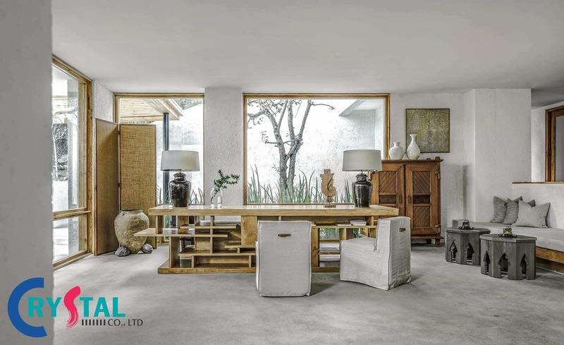 trang trí văn phòng - Crystal Design TPL