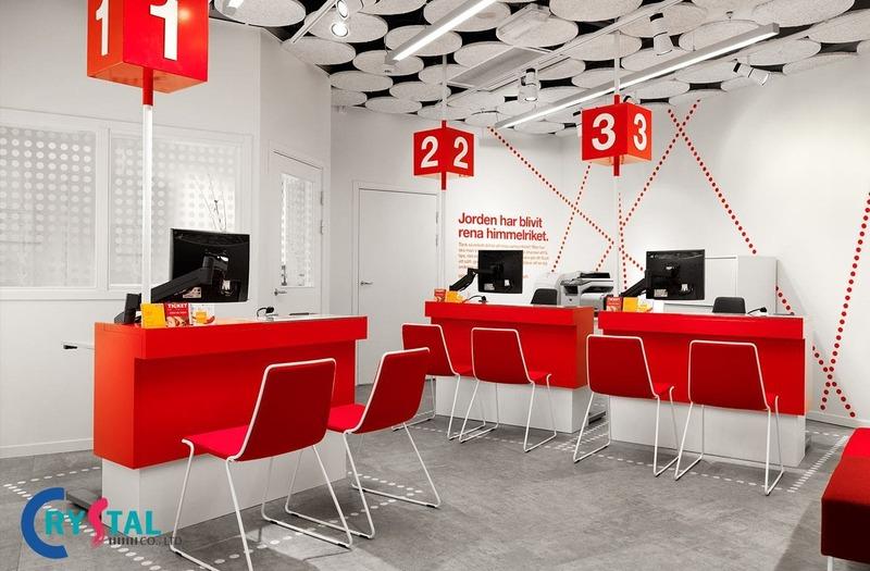 tư vấn nội thất văn phòng giao dịch cao cấp - Crystal Design TPL