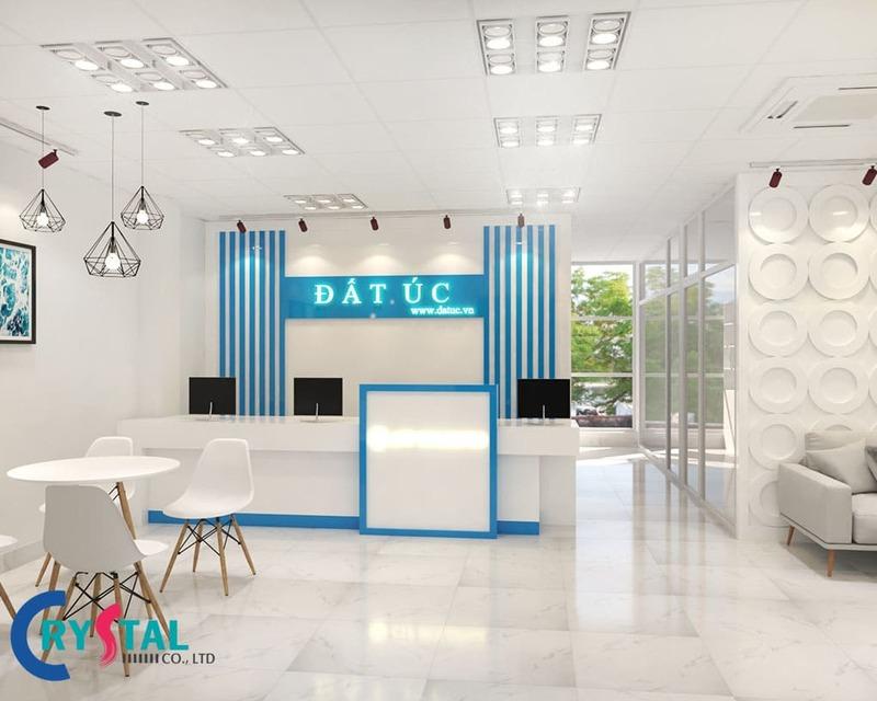 tư vấn nội thất văn phòng giao dịch - Crystal Design TPL