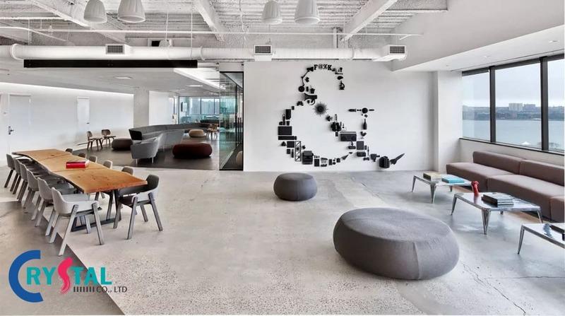 tư vấn thiết kế nội thất văn phòng - Crystal Design TPL