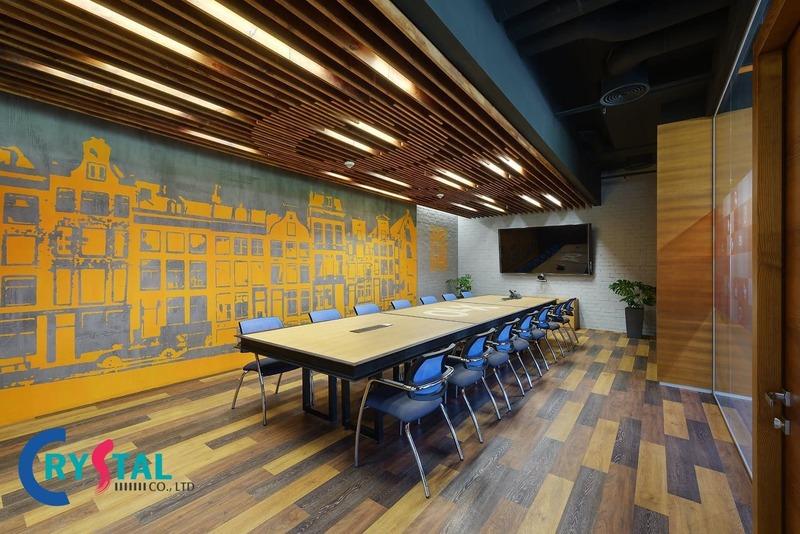 tư vấn thiết kế phòng họp đẹp - Crystal Design TPL