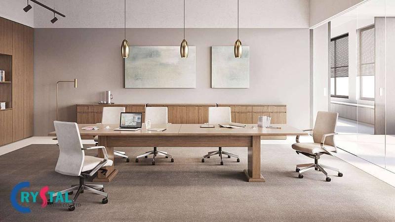 tư vấn thiết kế phòng họp hiện đại - Crystal Design TPL