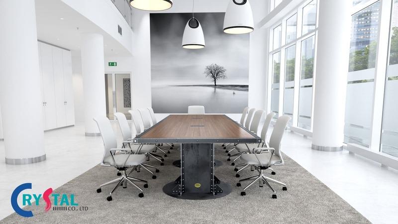 tư vấn thiết kế phòng họp - Crystal Design TPL