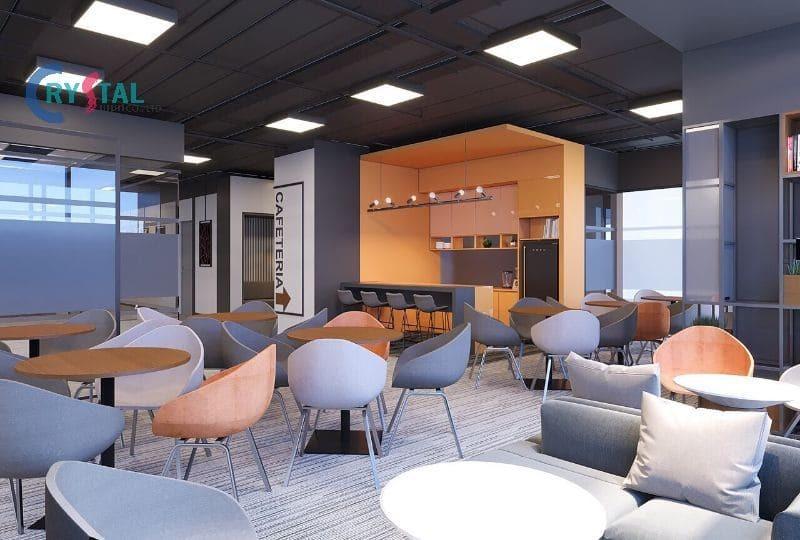 văn phòng cho thuê giá rẻ - Crystal Design TPL