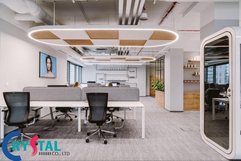 văn phòng đại diện - Crystal Design TPL