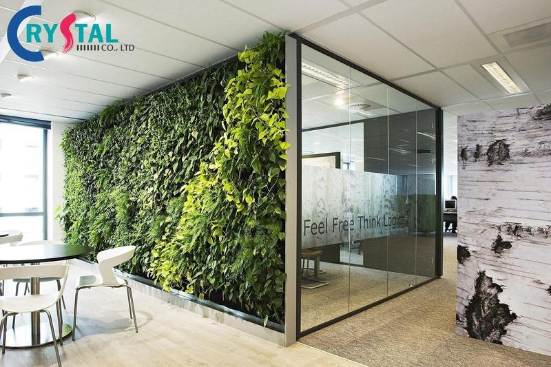 văn phòng green office là gì - Crystal Design TPL