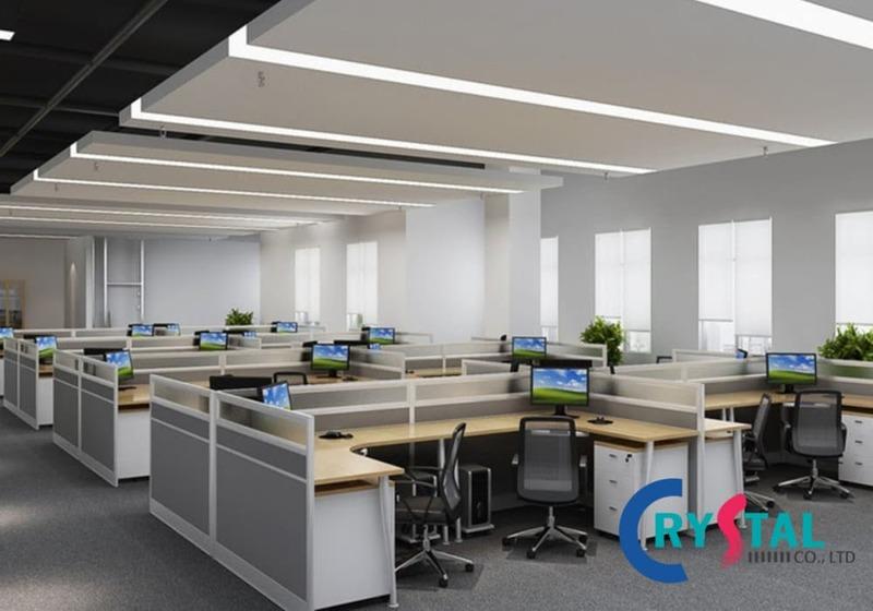 văn phòng mở - Crystal Design TPL