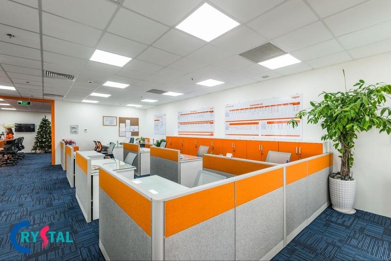 văn phòng thiết kế nội thất - Crystal Design TPL