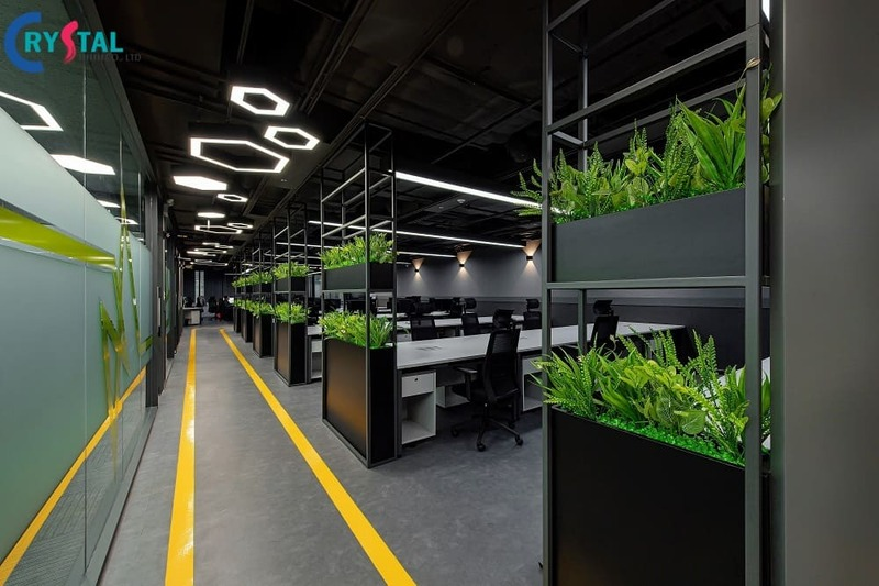 vì sao nên thiết kế nội thất văn phòng - Crystal Design TPL