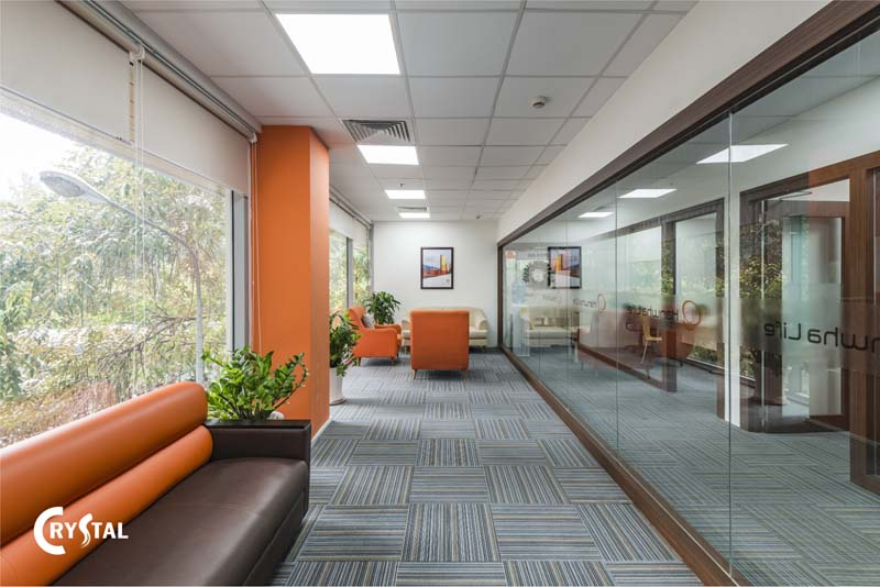xu hướng nội thất văn phòng hiện đại - Crystal Design TPL