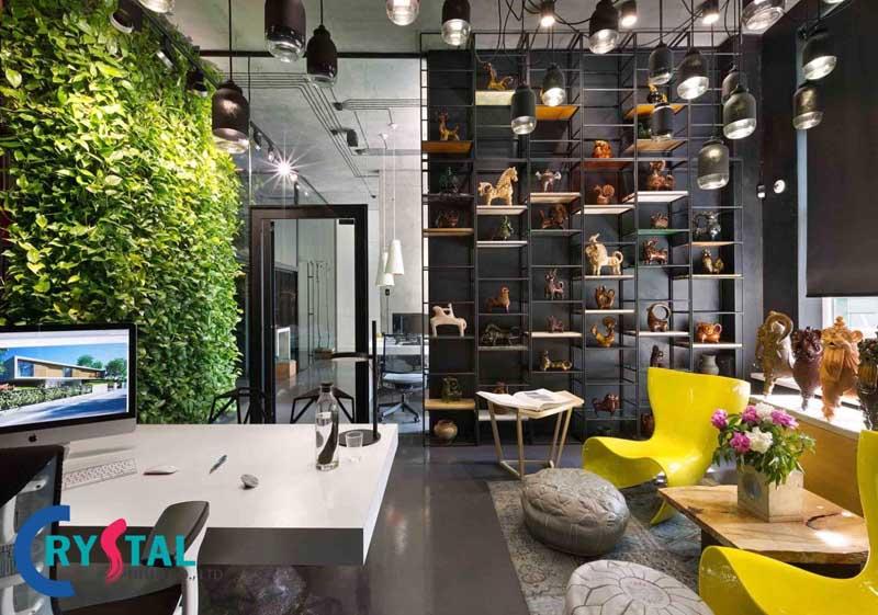 xu hướng thiết kế văn phòng - Crystal Design TPL
