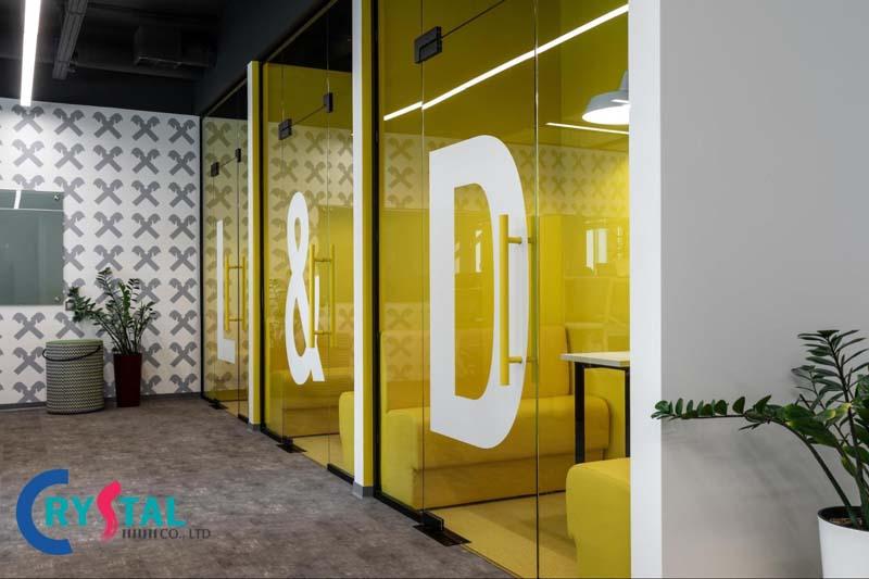 xu hướng văn phòng hiện đại - Crystal Design TPL
