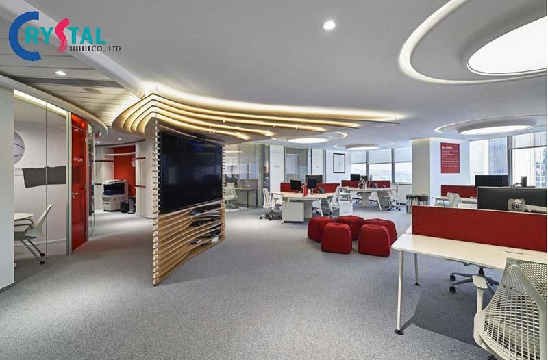 ý tưởng decor văn phòng chuyên nghiệp