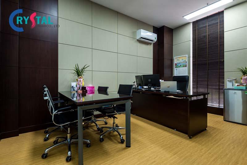 ý tưởng decor văn phòng thu hút