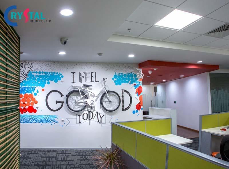 ý tưởng thiết kế nội thất văn phòng 2021
