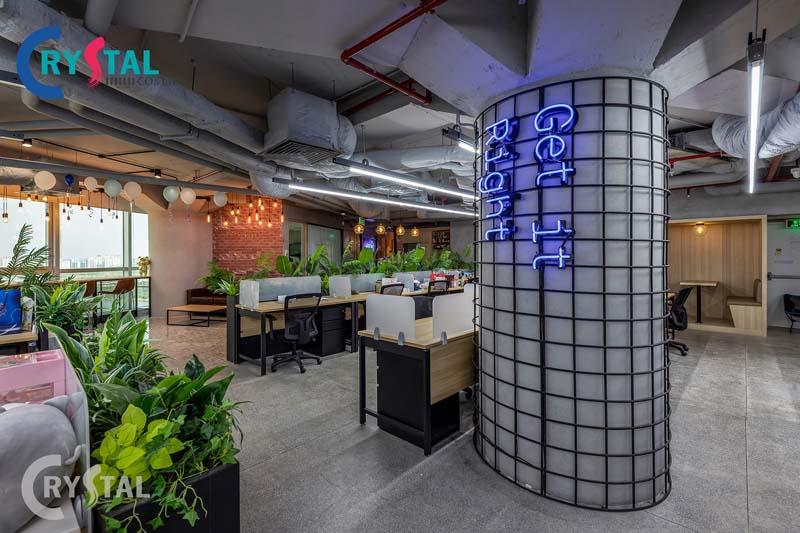ý tưởng thiết kế nội thất văn phòng đa năng