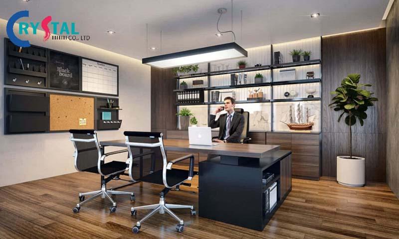 ý tưởng thiết kế nội thất văn phòng mở