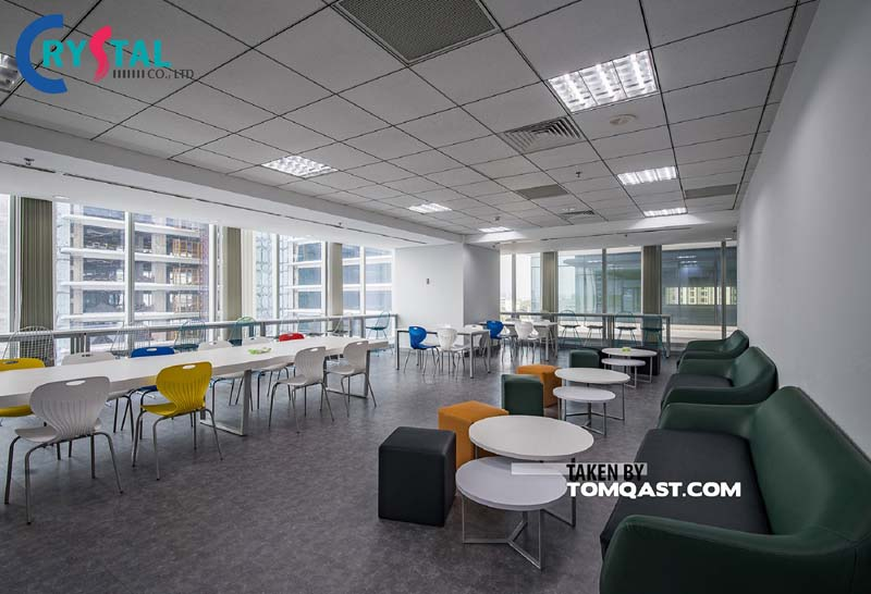 ý tưởng thiết kế nội thất văn phòng thu hút