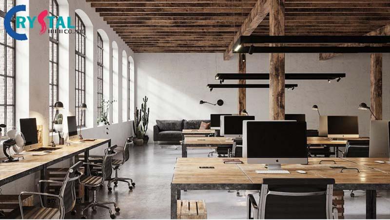 ý tưởng thiết kế văn phòng làm việc không gian mở
