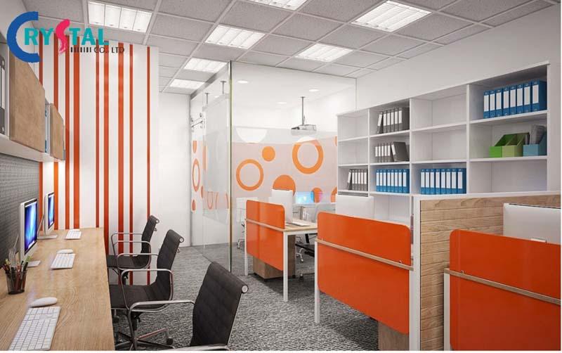 ý tưởng thiết kế văn phòng mở