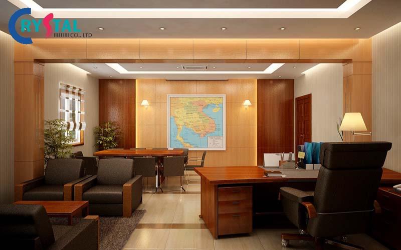 ý tưởng thiết kế văn phòng phòng họp đẹp