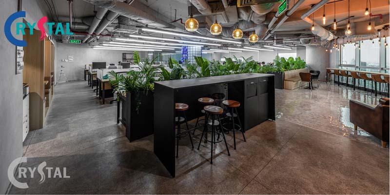 ý tưởng thiết kế văn phòng xanh