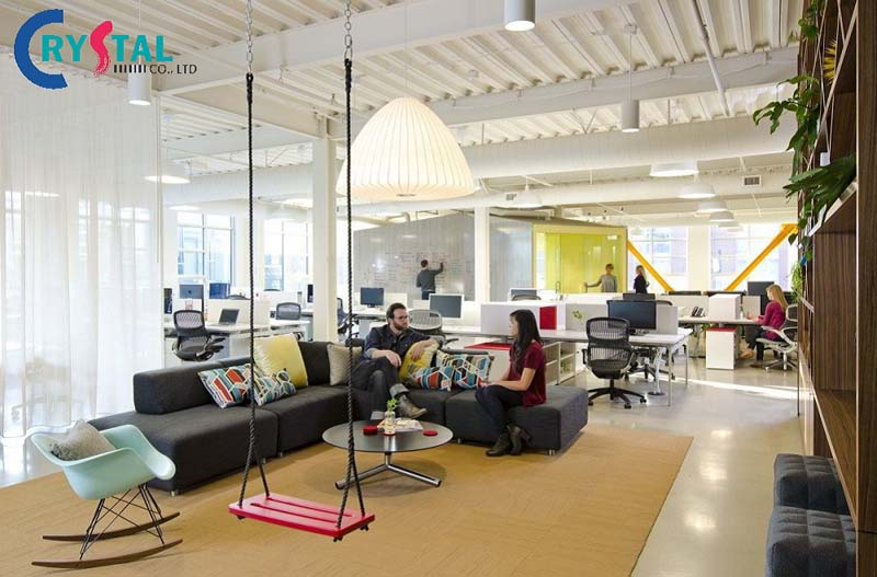 ý tưởng thiết kế văn phòng xu hướng