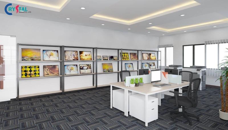 yếu tố ảnh hưởng đến thiết kế nội thất văn phòng - Crystal Design TPL