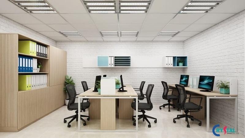 yếu tố quan trọng trong thiết kế nội thất văn phòng - Crystal Design TPL