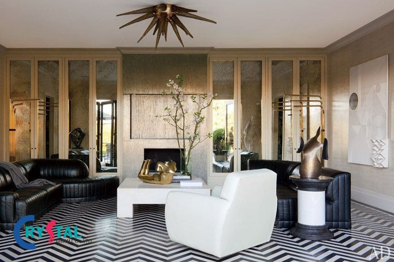 căn hộ phong cách nội thất thô mộc - Crystal Design TPL