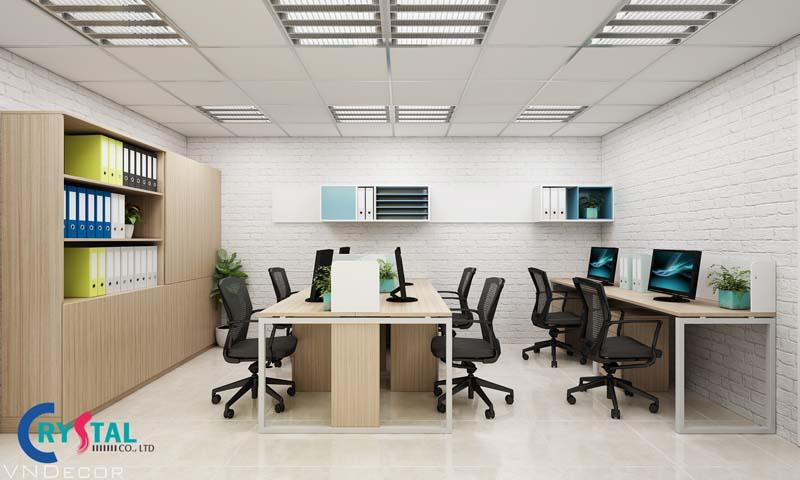 công ty thi công nội thất văn phòng ở hà nội