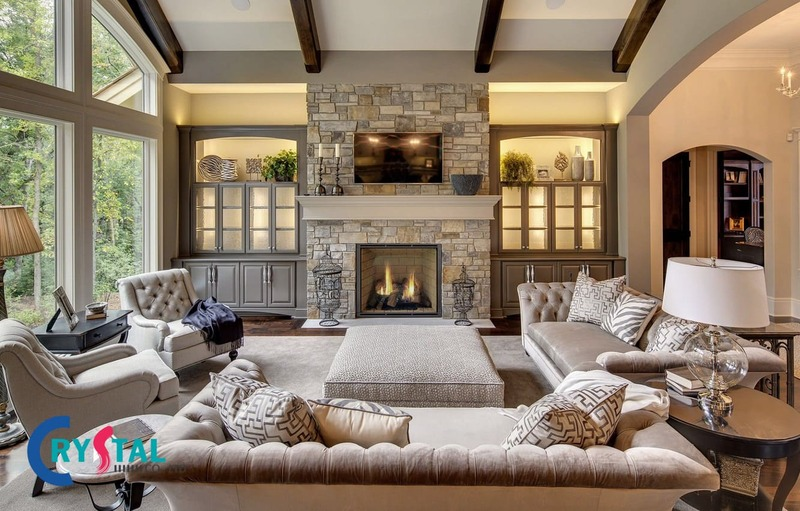 đặc trưng phong cách nội thất thô mộc - Crystal Design TPL