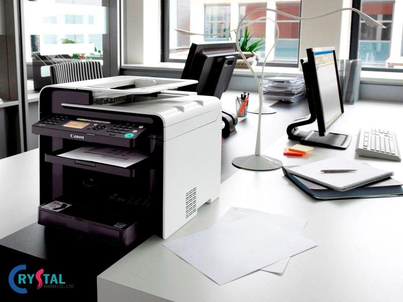 mẫu văn phòng đẹp ấn tượng - Crystal Design TPL