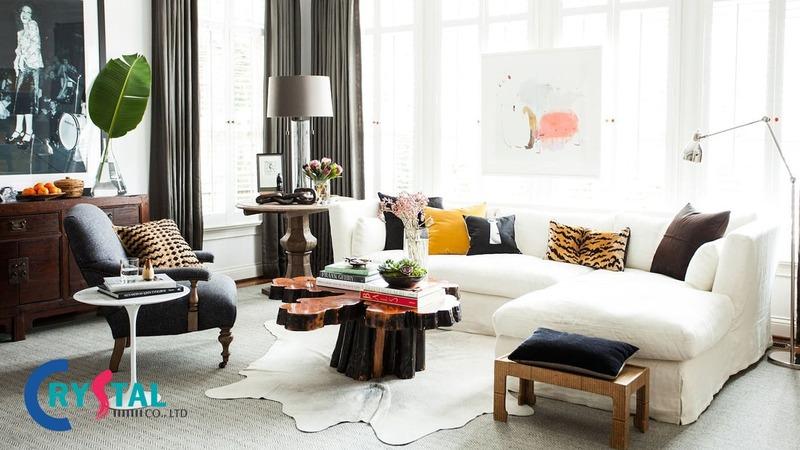 nội thất phong cách chiết trung trong thiết kế - Crystal Design TPL