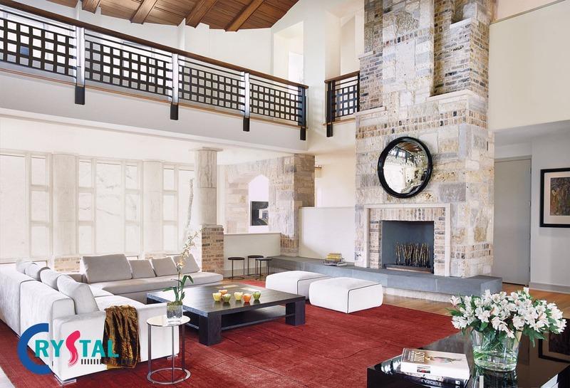 nội thất phong cách chiết trung - Crystal Design TPL