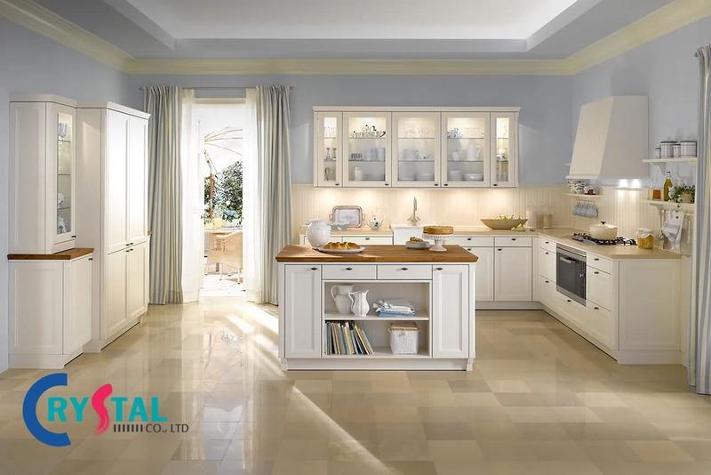 nội thất phong cách cổ điển - Crystal Design TPL
