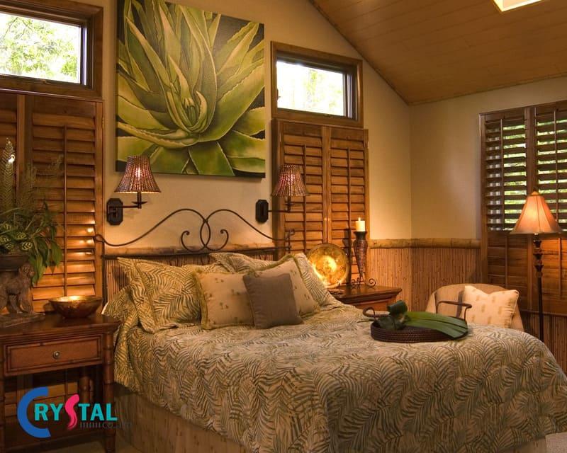 nội thất phong cách nhiệt đới