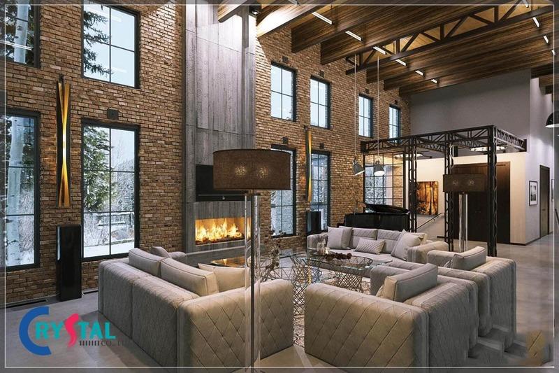 phong cách mộc trong nội thất - Crystal Design TPL