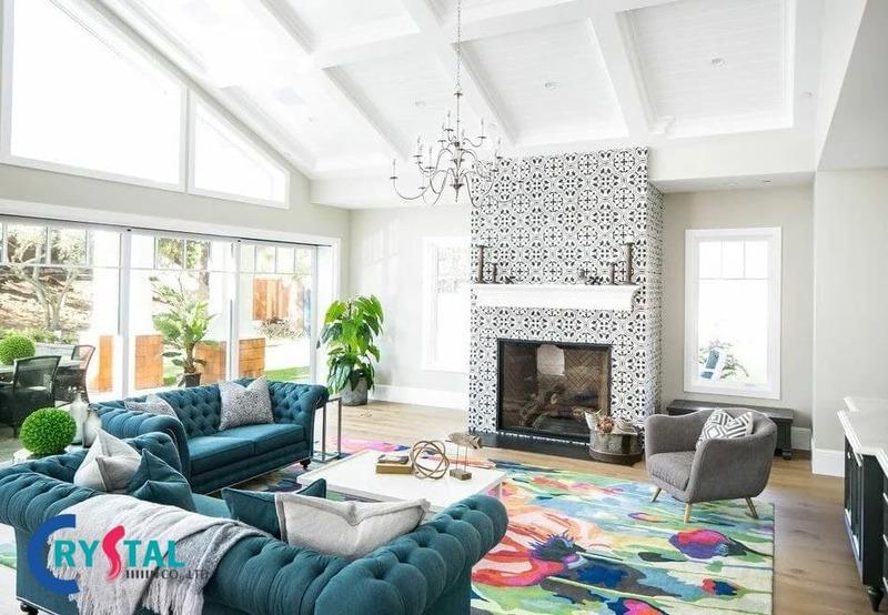 phong cách nội thất chiết trung - Crystal Design TPL
