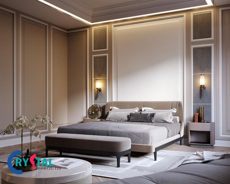 phong cách nội thất cổ điển - Crystal Design TPL