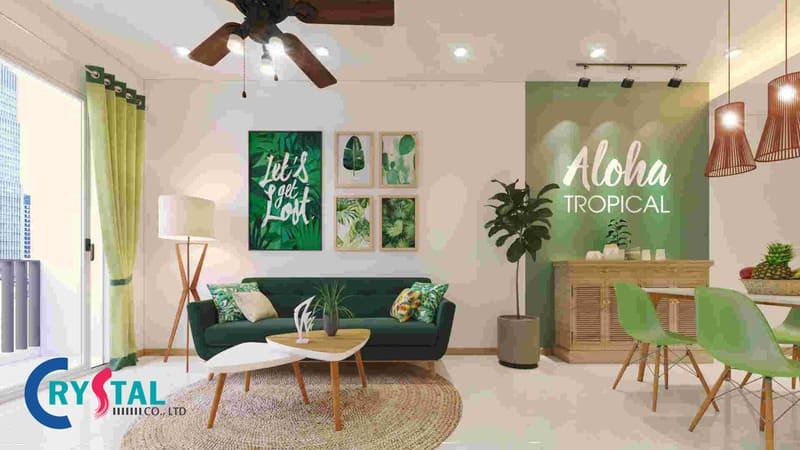 phong cách tropical