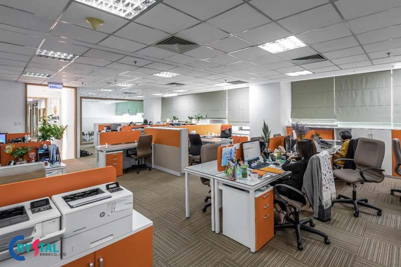 thi công nội thất văn phòng chất lượng tại hà nội