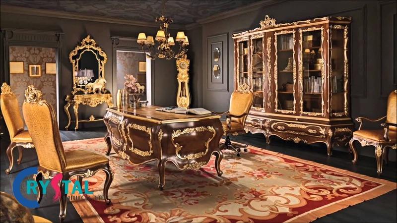 thiết kế nội thất cổ điển - Crystal Design TPL