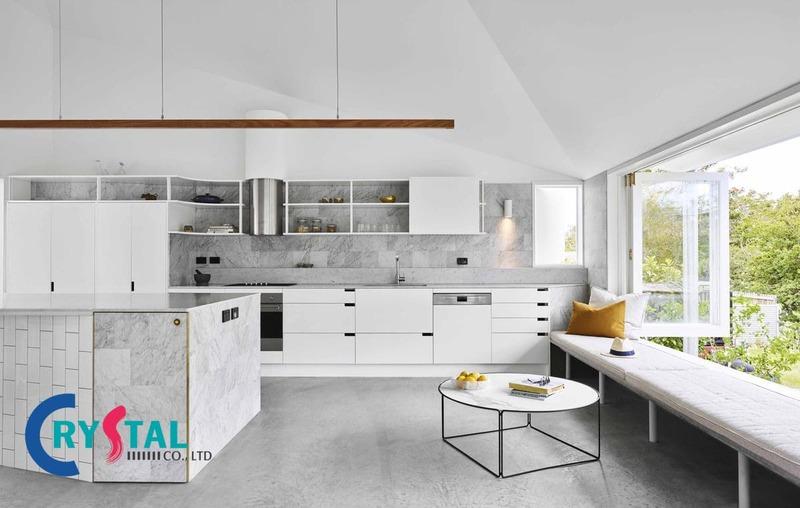 thiết kế nội thất phong cách cổ điển - Crystal Design TPL