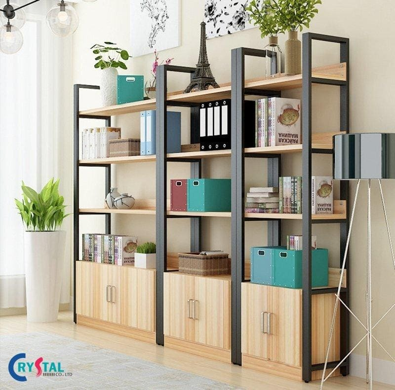 thiết kế nội thất phòng làm việc - Crystal Design TPL