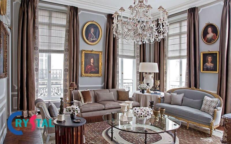 thiết kế nội thất theo phong cách cổ điển - Crystal Design TPL