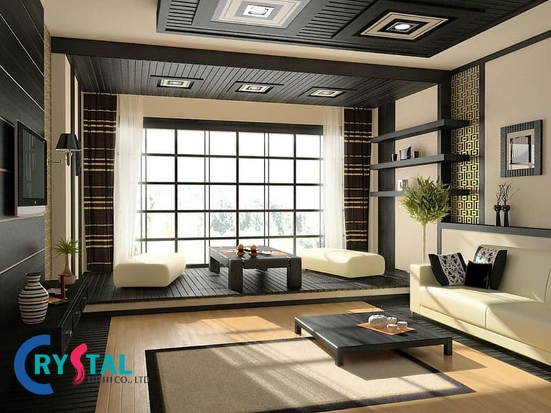 thiết kế nội thất theo phong cách urban