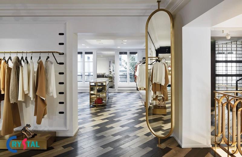 thiết kế showroom thu hút - Crystal Design TPL