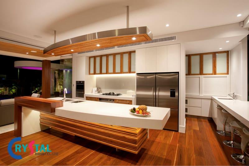 thiết kế theo phong cách nhiệt đới