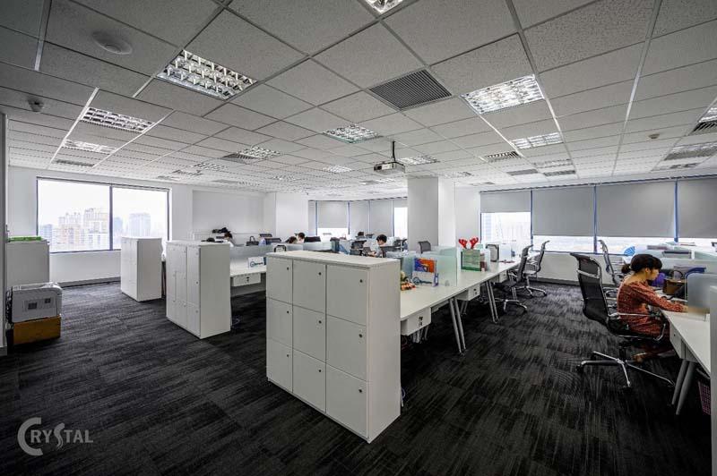 thiết kế thi công văn phòng ở hà nội